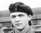 Dominik Stoltman jako polski żołnierz, Szkocja, rok 1945