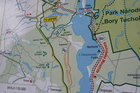 Na mapach Kaszubska Marszruta prezentuje się znakomicie...