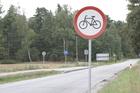 Chociński Młyn; zakaz poruszania się rowerami po szosie uderza w posiadaczy rowerów szosowych