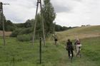 ...a dokładnie na łąkę, na której wykazać się trzeba nie lada sprawnością fizyczną i wytrzymałością ;-/